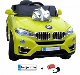 AUTO BMW X6 AKU 2 SILNIKI PILOT MP3 EVA TABLICE