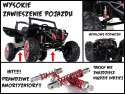 Pojazd Buggy SuperStar 4x4 - MP4 Czarny